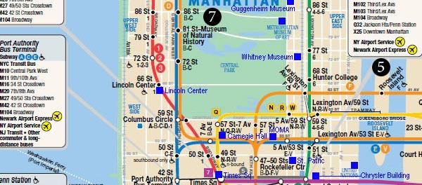 Map of Mortal Instruments New York TMI Source – Mapa Manhattan New York