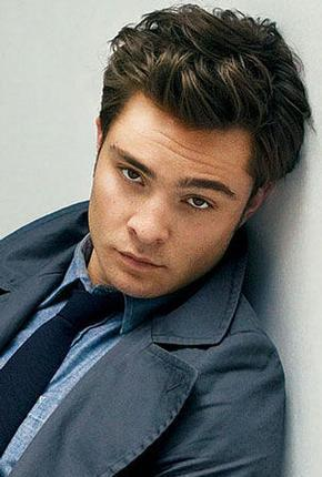 Ed Westwick  who voices the Ed Westwick
