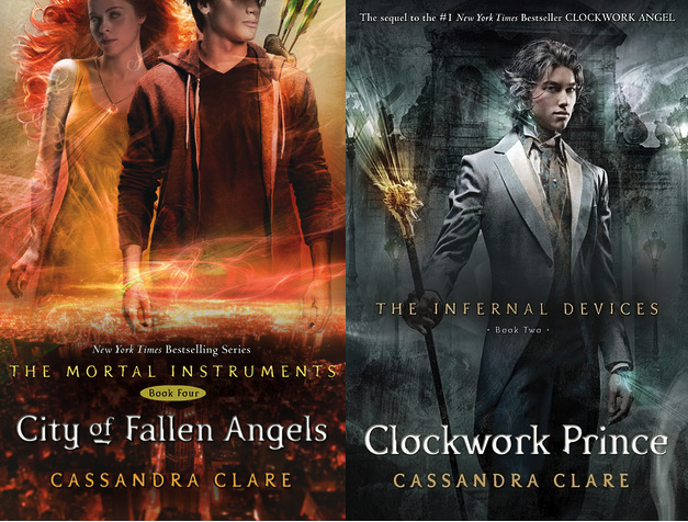 'Clockwork Prince' and 'City of Fallen Angels' make The ...