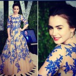 Lily Collins Oscars 2012 6