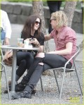 Lilly Collins And Jamie Campbell Bower Go For A Romantic Stroll in Toronto