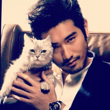 Godfrey Gao (Magnus and Chairman Meow)