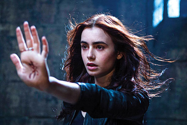 Lily Collins as Clary Fray (Photo: Sony Pictures)