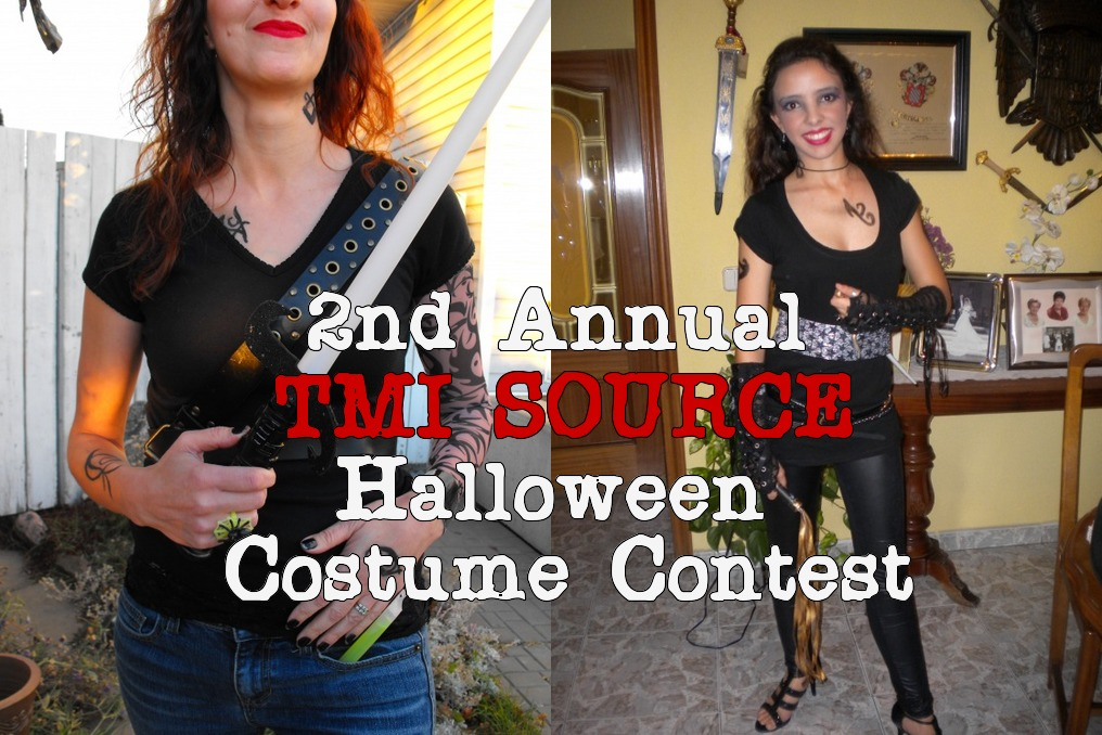 With ...  sc 1 st  TMI Source & Second Annual SHADOWHUNTER CHRONICLES Halloween Costume Contest ...