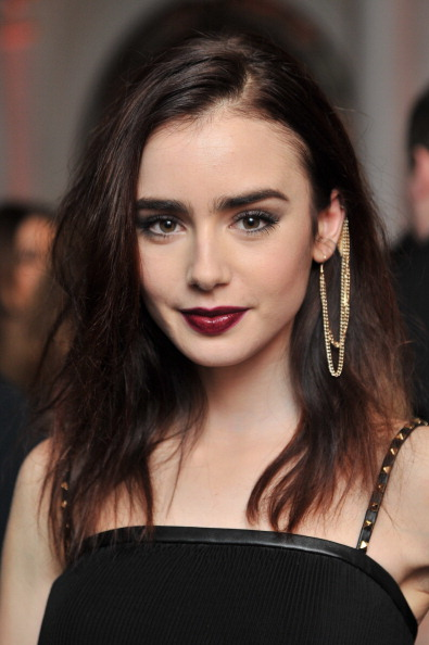 Hot lily collins Nude celebrity