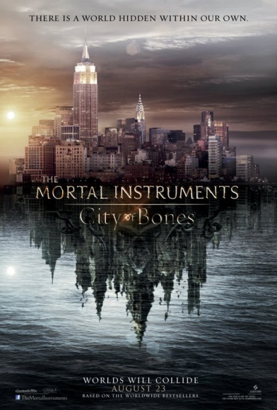 The Mortal Instruments: City of Bones teaser poster