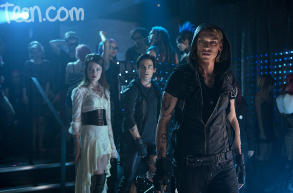 Jamie Campbell Bower as Jace Wayland (Photo: Sony Pictures)