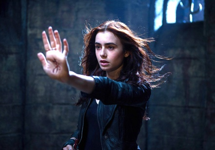 Lily Collins as Clary Fray