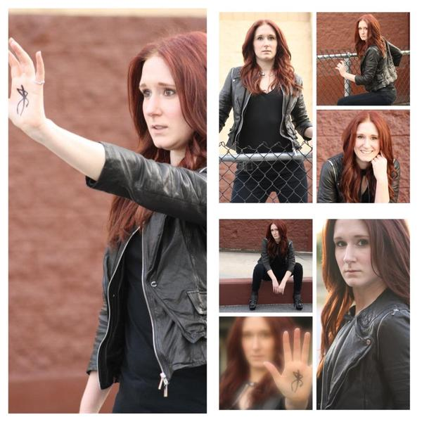 Katie as Clary