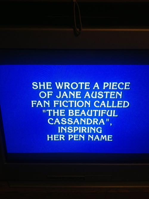 Cassie jeopardy