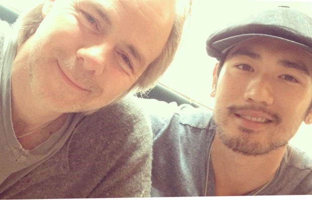 Harald Zwart and Godfrey Gao