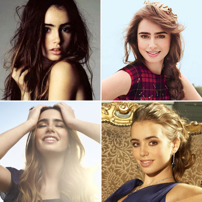 Celebrity Pisces Poll Winner Lily Collins