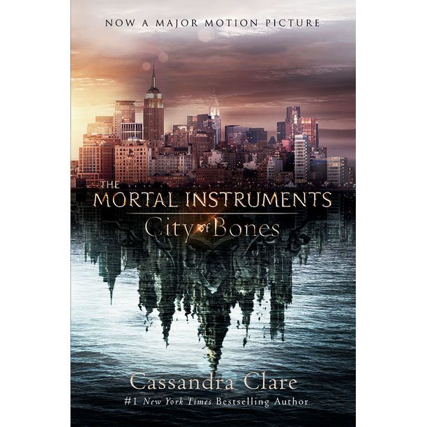 The Mortal Instruments Book Covers movie art on the cover