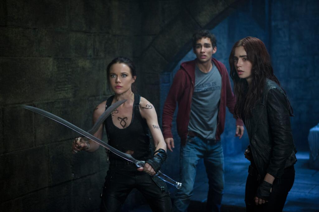 Isabelle, Simon and Clary MORTAL INSTRUMENTS still now in