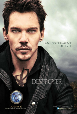 Valentine Morgenstern character poster