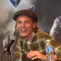 Jamie Campbell Bower Attends 'City of Bones' Fan Event in Barcelona