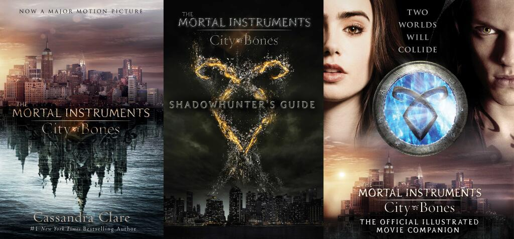 The Mortal Instruments Book Covers 'THE MORTAL INSTRUME...
