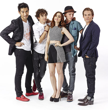City of Bones Mortal Instruments Cast