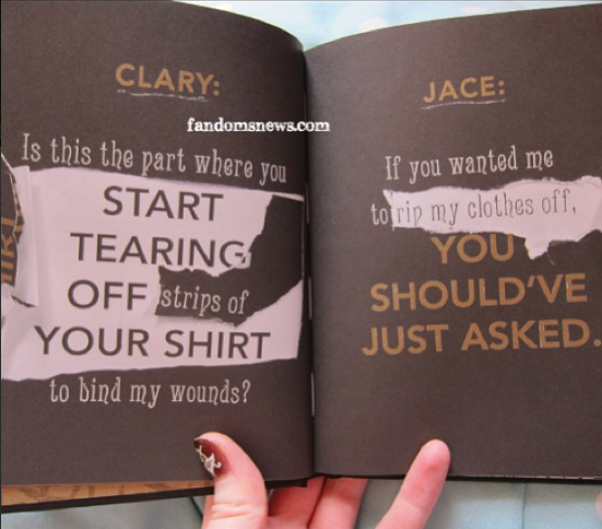 Quotes From Mortal Instruments City Of Bones ... The Mortal ...