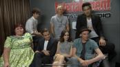 Comic-Con EW interview Cast