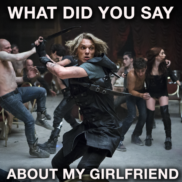 New 'MORTAL INSTRUMENTS' still featuring Jace fighting in ...