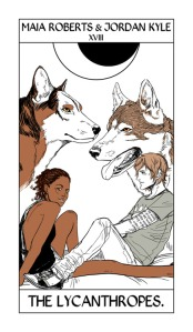 Cassandra Jean Tarot Card of Maia and Jordan