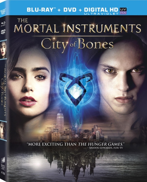 City of Bones BluRay DVD