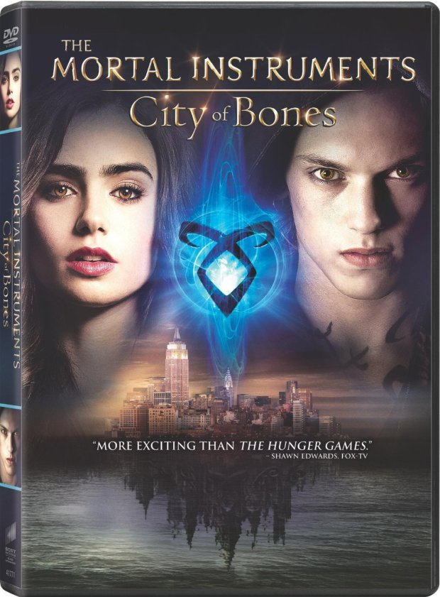 City of Bones DVD