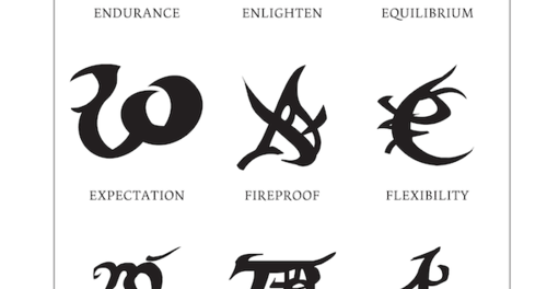 From The Mortal Instruments Shadowhunter Runes And Meanings