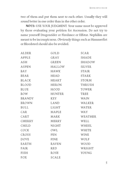 Letter Surnames