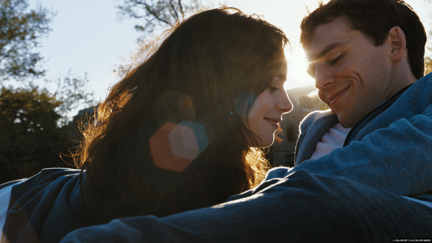 First stills from 'Love, Rosie' starring Lily Collins ...