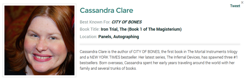 cassie bookcon