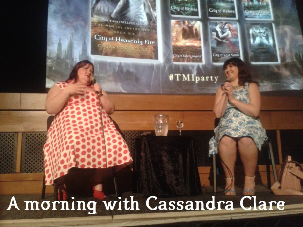 A morning with Cassandra Clare