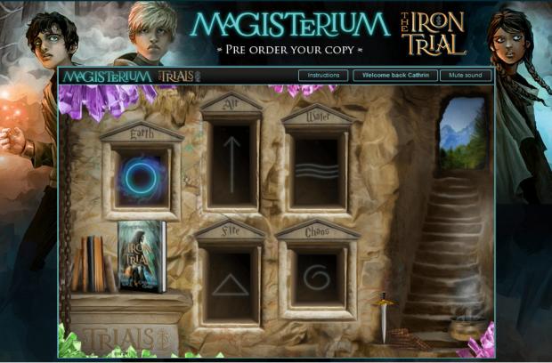 Magisterium game