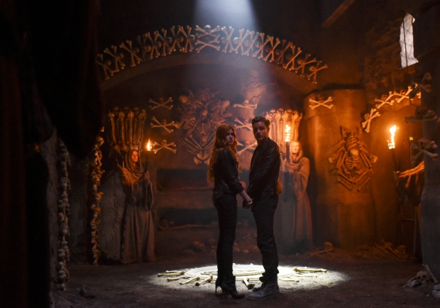 "SHADOWHUNTERS - ABC Family's ""Shadowhunters"" premieres Tuesday, January 12, 2016 on Freeform. ABC Family is becoming Freeform in January 2016. (ABC Family/John Medland) KATHERINE MCNAMARA, DOMINIC SHERWOOD"