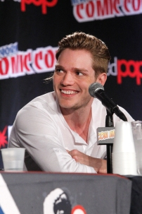 """SHADOWHUNTERS - The cast and creators of ABC Family's """"Shadowhunters"""" appear at New York Comic-Con on October 10, 2015 to discuss the new series. """"Shadowhunters"""" premieres Tuesday, Jan. 12 at 9 p.m. ET on ABC Family. (ABC Family/Lou Rocco) DOMINIC SHERWOOD"""