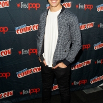 "SHADOWHUNTERS - The cast and creators of ABC Family's ""Shadowhunters"" appear at New York Comic-Con on October 10, 2015 to discuss the new series. ""Shadowhunters"" premieres Tuesday, Jan. 12 at 9 p.m. ET on ABC Family. (ABC Family/Lou Rocco) ALBERTO ROSENDE"