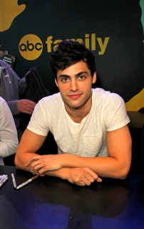 """SHADOWHUNTERS - The cast and creators of ABC Family's """"Shadowhunters"""" appear at New York Comic-Con on October 10, 2015 to discuss the new series. """"Shadowhunters"""" premieres Tuesday, Jan. 12 at 9 p.m. ET on ABC Family. (ABC Family/Lou Rocco) MATTHEW DADDARIO"""
