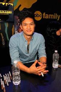"""SHADOWHUNTERS - The cast and creators of ABC Family's """"Shadowhunters"""" appear at New York Comic-Con on October 10, 2015 to discuss the new series. """"Shadowhunters"""" premieres Tuesday, Jan. 12 at 9 p.m. ET on ABC Family. (ABC Family/Lou Rocco) HARRY SHUM JR."""