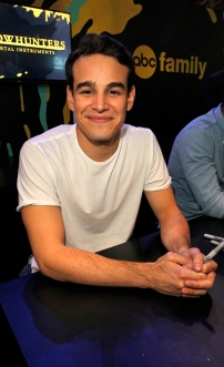 """SHADOWHUNTERS - The cast and creators of ABC Family's """"Shadowhunters"""" appear at New York Comic-Con on October 10, 2015 to discuss the new series. """"Shadowhunters"""" premieres Tuesday, Jan. 12 at 9 p.m. ET on ABC Family. (ABC Family/Lou Rocco) ALBERTO ROSENDE"""
