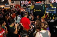 """SHADOWHUNTERS - The cast and creators of ABC Family's """"Shadowhunters"""" appear at New York Comic-Con on October 10, 2015 to discuss the new series. """"Shadowhunters"""" premieres Tuesday, Jan. 12 at 9 p.m. ET on ABC Family. (ABC Family/Lou Rocco) SHADOWHUNTERS AUTOGRAPH SIGNING"""