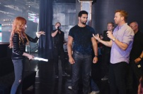 """SHADOWHUNTERS - """"The Mortal Cup"""" - One young woman realizes how dark the city can really be when she learns the truth about her past in the series premiere of """"Shadowhunters"""" on Tuesday, January 12th at 9:00 - 10:00 PM ET/PT. ABC Family is becoming Freeform in January 2016. Based on the bestselling young adult fantasy book series The Mortal Instruments by Cassandra Clare, """"Shadowhunters"""" follows Clary Fray, who finds out on her birthday that she is not who she thinks she is but rather comes from a long line of Shadowhunters - human-angel hybrids who hunt down demons. Now thrown into the world of demon hunting after her mother is kidnapped, Clary must rely on the mysterious Jace and his fellow Shadowhunters Isabelle and Alec to navigate this new dark world. With her best friend Simon in tow, Clary must now live among faeries, warlocks, vampires and werewolves to find answers that could help her find her mother. Nothing is as it seems, including her close family friend Luke who knows more than he is letting on, as well as the enigmatic warlock Magnus Bane who could hold the key to unlocking Clary's past. (ABC Family/John Medland) KATHERINE MCNAMARA, MCG (DIRECTOR)"""