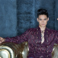 "SHADOWHUNTERS - ABC Family's ""Shadowhunters"" stars Harry Shum Jr. as Magnus Bane. (ABC Family/Bob D'Amico)"