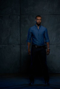 "SHADOWHUNTERS - ABC Family's ""Shadowhunters"" stars Isaiah Mustafa as Luke Garroway. (ABC Family/Bob D'Amico)"