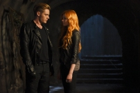 "SHADOWHUNTERS - ""The Descent Into Hell is Easy"" - Clary's memories may be the key to finding her mother and The Mortal Cup in ""The Descent Into Hell is Easy,"" an all-new episode of ""Shadowhunters,"" airing Tuesday, January 19th at 9:00 – 10:00 p.m., EST/PST on Freeform, the new name for ABC Family. ABC Family is becoming Freeform on January 12, 2016. (ABC Family/John Medland) DOMINIC SHERWOOD, KATHERINE MCNAMARA"