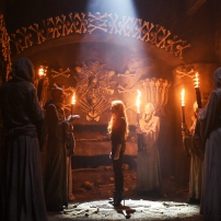 "SHADOWHUNTERS - ""The Descent Into Hell is Easy"" - Clary's memories may be the key to finding her mother and The Mortal Cup in ""The Descent Into Hell is Easy,"" an all-new episode of ""Shadowhunters,"" airing Tuesday, January 19th at 9:00 – 10:00 p.m., EST/PST on Freeform, the new name for ABC Family. ABC Family is becoming Freeform on January 12, 2016. (ABC Family/John Medland) STEPHEN HART, KATHERINE MCNAMARA"