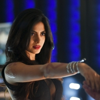 "SHADOWHUNTERS - ""The Descent Into Hell is Easy"" - Clary's memories may be the key to finding her mother and The Mortal Cup in ""The Descent Into Hell is Easy,"" an all-new episode of ""Shadowhunters,"" airing Tuesday, January 19th at 9:00 – 10:00 p.m., EST/PST on Freeform, the new name for ABC Family. ABC Family is becoming Freeform on January 12, 2016. (ABC Family/John Medland) EMERAUDE TOUBIA"