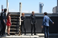 "SHADOWHUNTERS - ""Dead Man's Party"" - Clary, Jace, Alec and Isabelle must hatch a rescue plan that takes them into the heart of a vampire lair in ""Dead Man's Party,"" an all-new episode of ""Shadowhunters,"" airing Tuesday, January 26th at 9:00 – 10:00 p.m., EST/PST on Freeform, the new name for ABC Family. ABC Family is becoming Freeform on January 12, 2016. (ABC Family/John Medland) MATTHEW DADDARIO, EMERAUDE TOUBIA, KATHERINE MCNAMARA, DOMINIC SHERWOOD, ALBERTO ROSENDE"