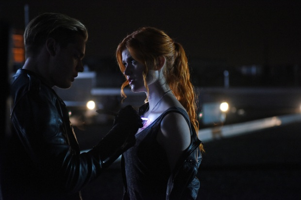 "SHADOWHUNTERS - ""Dead Man's Party"" - Clary, Jace, Alec and Isabelle must hatch a rescue plan that takes them into the heart of a vampire lair in ""Dead Man's Party,"" an all-new episode of ""Shadowhunters,"" airing Tuesday, January 26th at 9:00 – 10:00 p.m., EST/PST on Freeform, the new name for ABC Family. ABC Family is becoming Freeform on January 12, 2016. (ABC Family/John Medland) DOMINIC SHERWOOD, KATHERINE MCNAMARA"