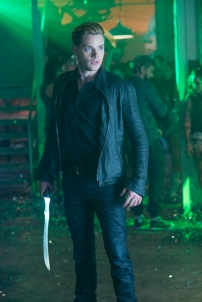 "SHADOWHUNTERS - ""Raising Hell"" - The Shadowhunters will have to put their trust in a Downworlder to access Clary's memories in ""Raising Hell,"" an all-new episode of ""Shadowhunters,"" airing Tuesday, February 2nd at 9:00 – 10:00 p.m., EST/PST on Freeform, the new name for ABC Family. (Freeform/Sven Frenzel) DOMINIC SHERWOOD"